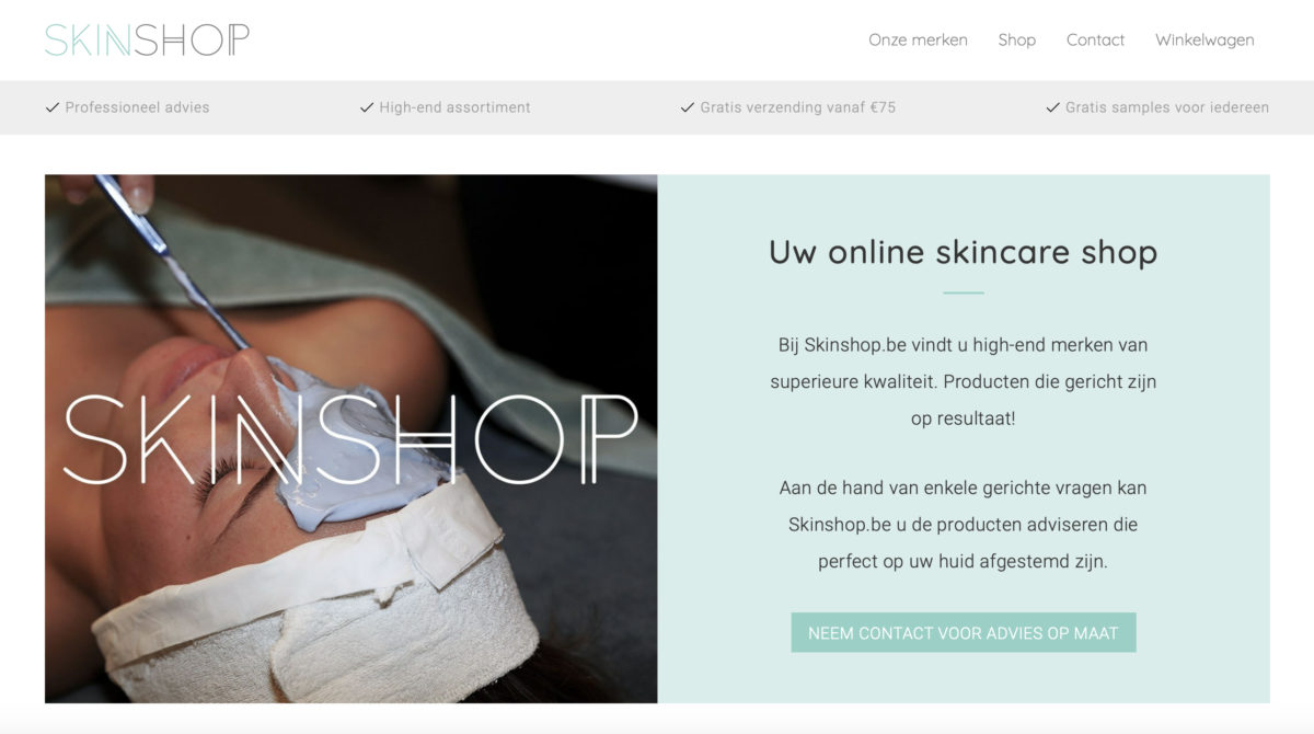 ✨ De webshop is online ✨